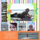 Brittney; Summer is Here Template #2; Coral Reef paper from Shandy Vogt