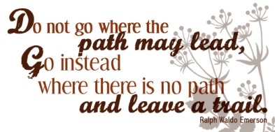 Leave a trail…