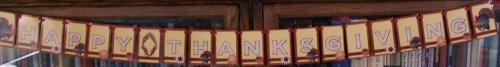 My Thanksgiving Banner