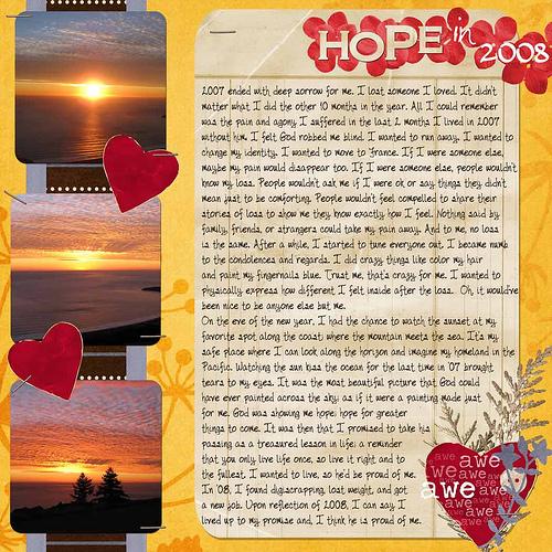 Hope in 2008