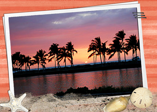Hawaii Sunset Quick Page