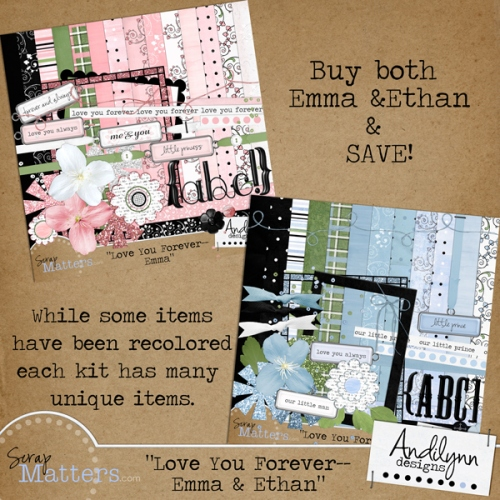 Love You Forever: Emma & Ethan by Andilynn Designs