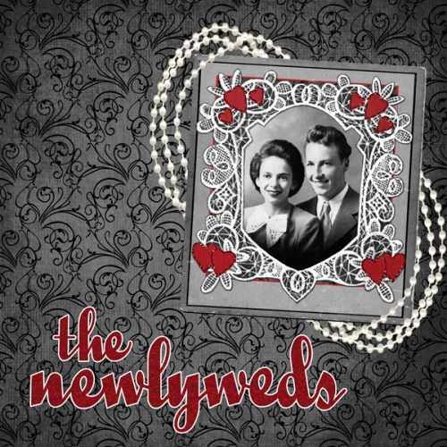 The Newlyweds created with Little Lovebirds by Andilynn Designs